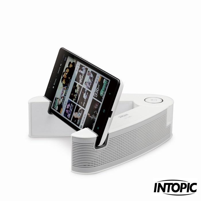 【INTOPIC】雙聲道藍牙NFC喇叭麥克風 SP-HM-BT210