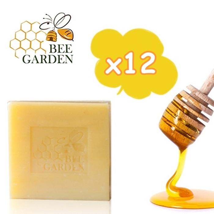 【BEE GARDEN】頂級蜂蜜乳霜皂100g (12入特惠組) 特賣