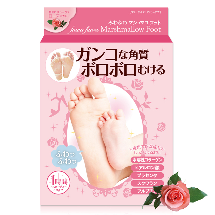 日本棉花糖美足膜