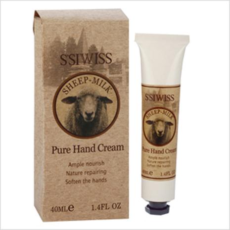 即期品【S'SIWISS】羊乳純淨護手霜40ml