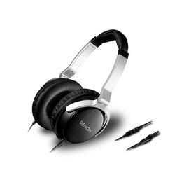 日本 DENON AH-D510R 三鍵式線控附麥克風耳罩式耳機 附收納袋