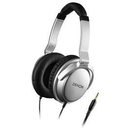 日本 DENON AH-D510 (銀色) 耳罩式耳機附收納袋公司貨附保卡保固一年