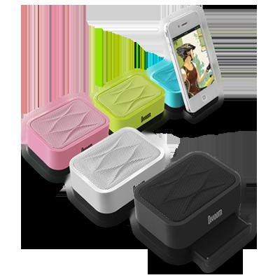 美國 Divoom IFIT-1 多媒體喇叭音質超優適用MP3手機iPhone iPad公司貨保固一年粉紅