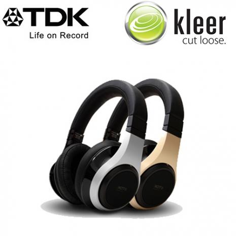 TDK Kleer Wireless TH-WR800 2.4G 超高頻無線耳機 超高音質傳輸銀色