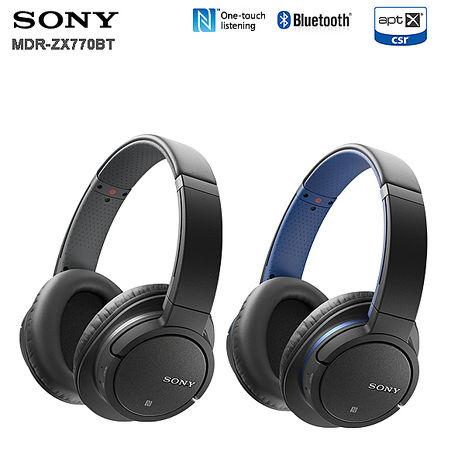 SONY MDR-ZX770BT (附收納袋) 無線藍牙耳罩式耳機公司貨一年保固