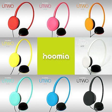 hoomia U2 Ace -多彩生活耳罩式立體聲耳機紅