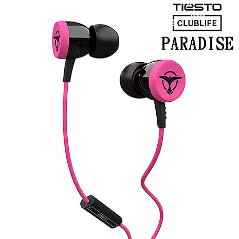 Clublife by Tiesto PARADISE (粉紅色) 耳道式耳機
