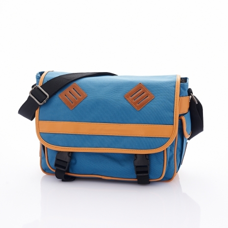 PORTMAN iRobot機器人雙扣側背包(藍色)PM132021