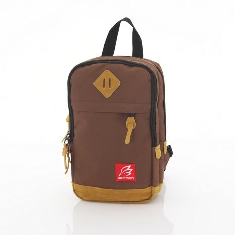 PORTMAN MINI單肩後背包(咖啡)PM131887
