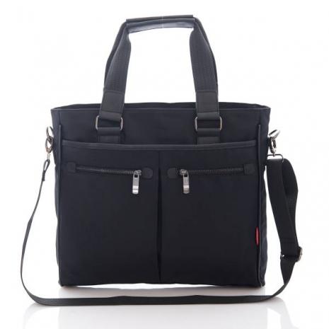 PORTMAN 無印時尚型男兩用托特包(經典黑) PM123686-服飾‧鞋包‧內著‧手錶-myfone購物