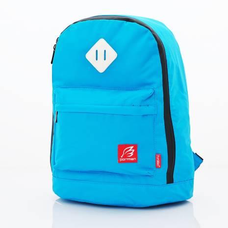 PORTMAN 國民版小豬鼻iPad防水後背包(藍) PM124019
