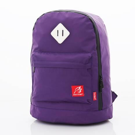 PORTMAN 國民版小豬鼻iPad防水後背包(紫) PM124019