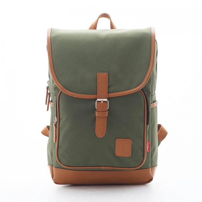PORTMAN 學院風單釦後背包(綠色) PM142132
