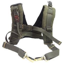 吉尼佛 JENOVA TW-309 吉尼佛多功能雙肩登山背帶-綠