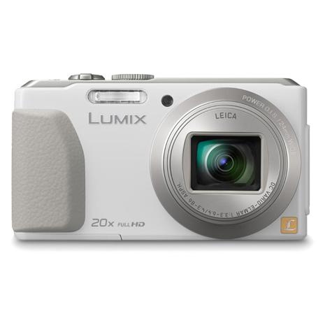 Panasonic ZS30 20倍變焦內建WiFi數位相機(公司貨)_白色★送16G+原廠袋+小腳架讀清保
