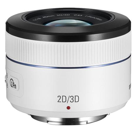 結帳再9折↘SAMSUNG 45mm F1.8 2D/3D 大光圈定焦鏡(公司貨) 白色