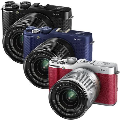 FUJIFILM X-A1+XC16-50mm 變焦鏡組(公司貨)