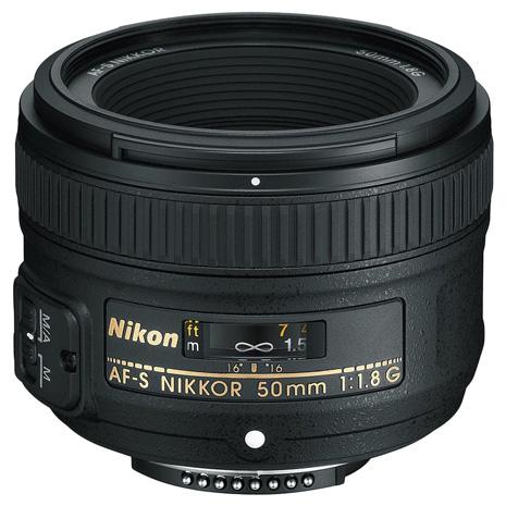 Nikon AF-S NIKKOR 50mm f/1.8G 大光圈定焦鏡(平行輸入)