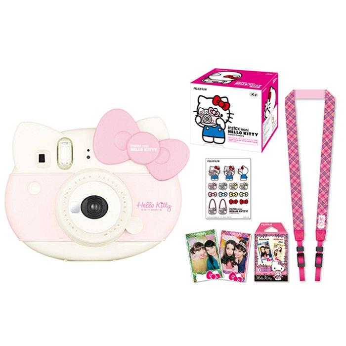 FUJIFILM mini 8 Hello Kitty 拍立得~公司貨保固1年~附貼紙/背帶/底片