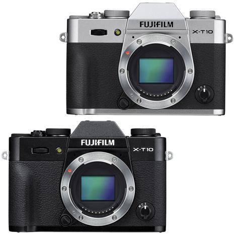 (公司貨)FUJIFILM X-T10 機身-送32GC10記憶卡+電池NP-W126+原腳架+NG 2160 包+清保黑色