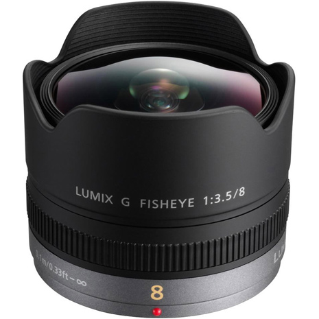 (平行輸入)Panasonic FISHEYE 8mm F3.5 魚眼鏡頭