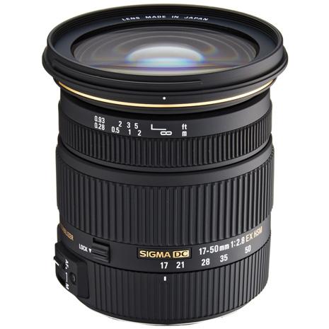 (平行輸入)SIGMA 17-50mm F2.8 EX DC OS HSM 大光圈廣角變焦鏡頭-送保護鏡(77)+拭鏡筆