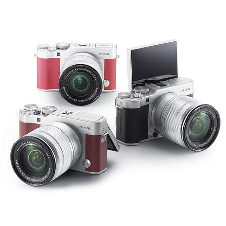 (平輸中文) FUJIFILM X-A3 16-50mm 變焦鏡組銀黑色