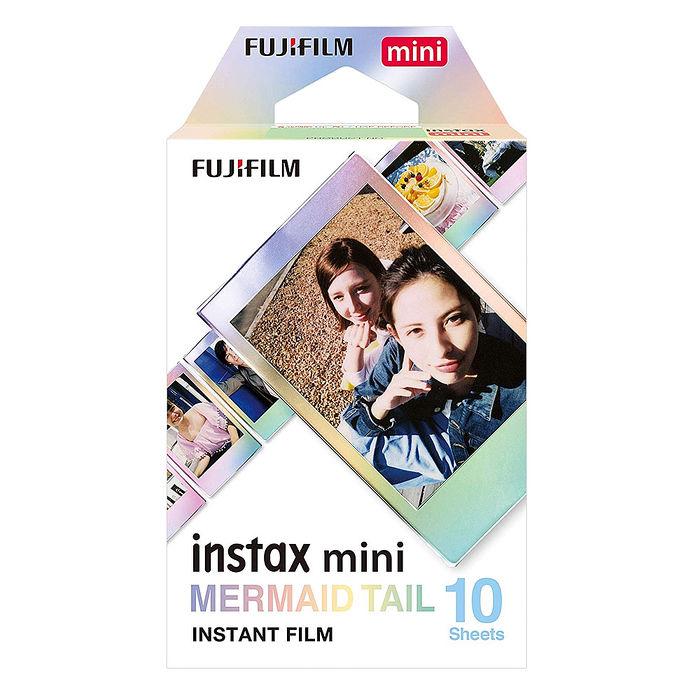 【3盒裝】FUJIFILM instax mini 拍立得底片(美人魚尾巴 MERMAID TAIL)