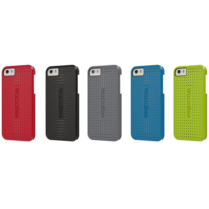 WazzaBee Matrix iPhone 5/5S 手機殼