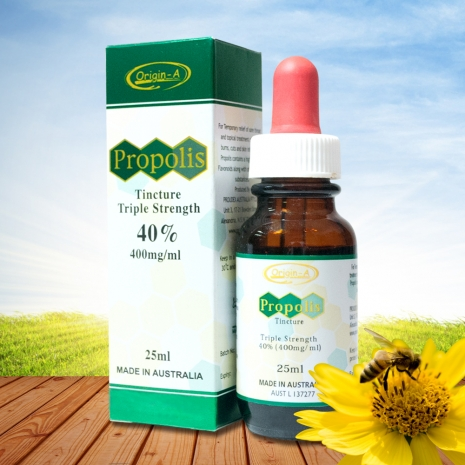 (即期良品)澳洲Origin-A 40%皇家蜂膠液(25ml)