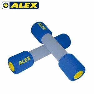 ALEX 韻律啞鈴4LB 1.8kg 藍色-戶外.婦幼.食品保健-myfone購物