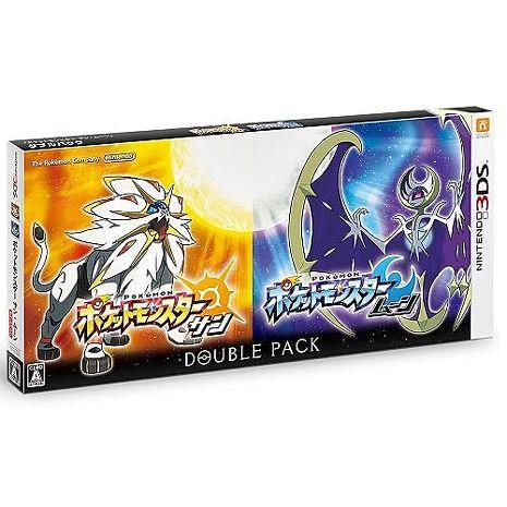 3DS 精靈寶可夢 太陽 / 月亮 雙重包 (日規主機專用)