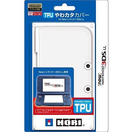 HORI NEW 3DSLL TPU 透明保護殼 (3DS-428)