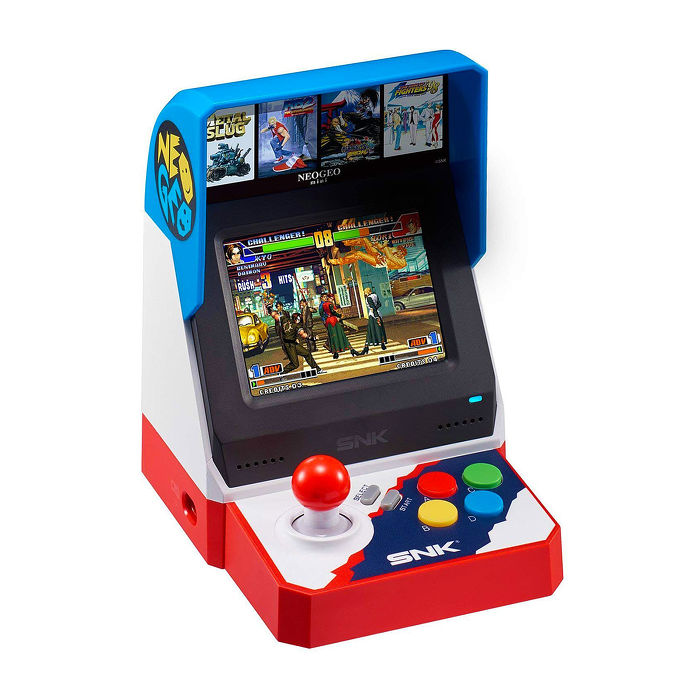 SNK 40周年紀念迷你遊戲機 NEO GEO Mini (亞洲版)