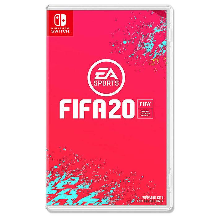 預購 NS 任天堂 Switch 國際足盟大賽 20 FIFA 20 英文版 (預計9月27日發售當天出貨)