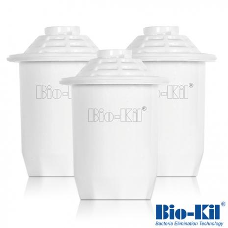 【Bio-Kil】淨水壺專用濾芯3入-家電.影音-myfone購物