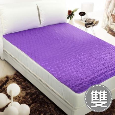 【契斯特】雙面機能-涼感/保暖保潔墊-葡萄紫-雙(1.1折)-居家日用.傢俱寢具-myfone購物