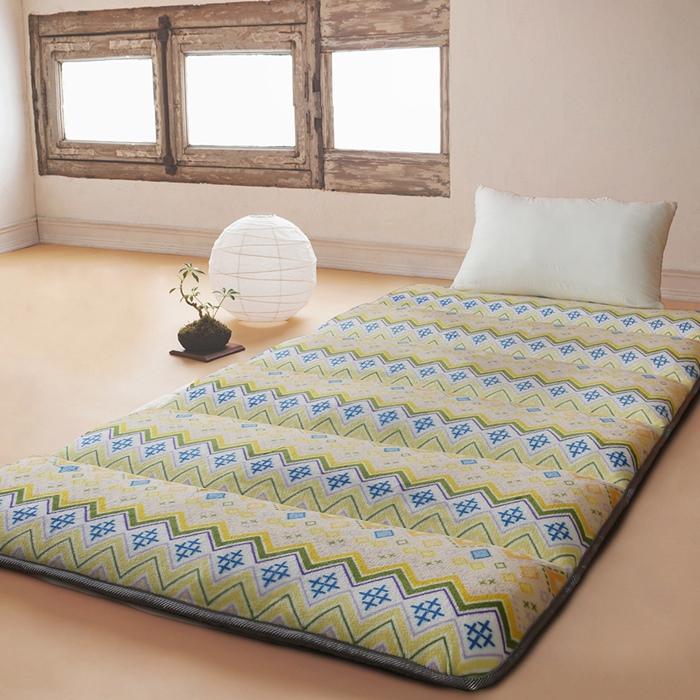 【契斯特】法蘭絨x羊羔絨八公分超厚實京都日式床墊-單人加大-金式法頌
