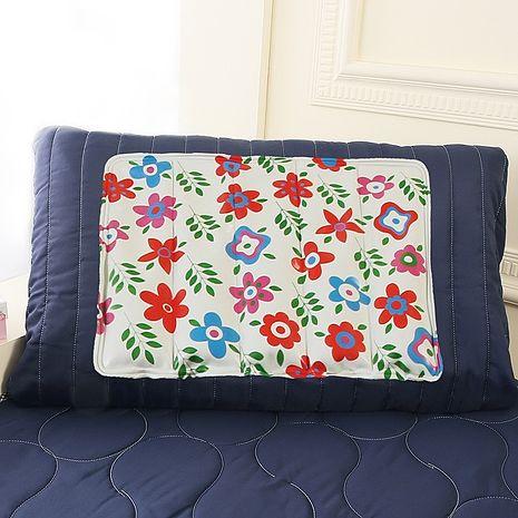 (特賣)CoolCold 雙重強效防蚊激涼冷凝枕墊-1入-夏日花園