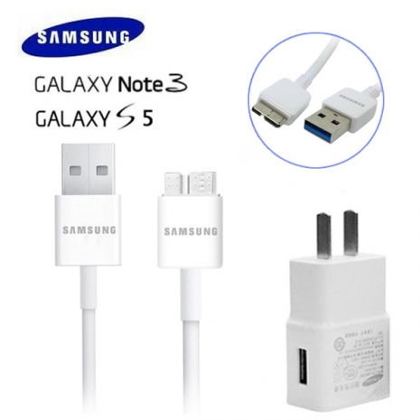 裸裝【Samsung】 Galaxy S5/i9600/NOTE3 /N900 原廠旅充組 5.3V/2A