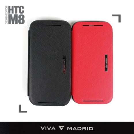 【VIVA MADRIA】HTC ALL NEW ONE / M8 時尚側掀皮套/保護套紅色