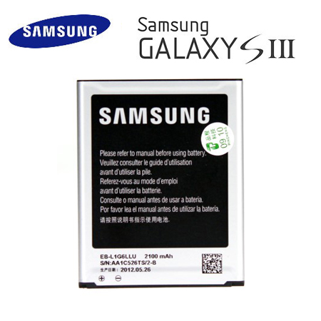 裸裝【三星原廠】Samsung Galaxy S3 (i9300) 高容量鋰電池 2100mAh 《EB-L1G6LLU》