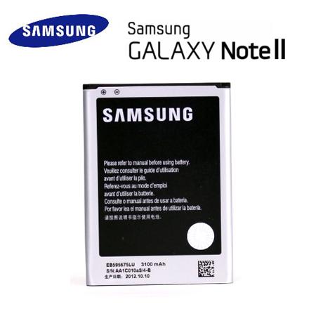 裸裝【三星】SAMSUNG Galaxy Note 2 (N7100) 3100mAh 電池《EB595675LU》-手機平板配件-myfone購物