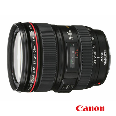 Canon EF 24-105mm F4 L IS USM / 24-105 廣角變焦鏡頭 (平行輸入-白盒)
