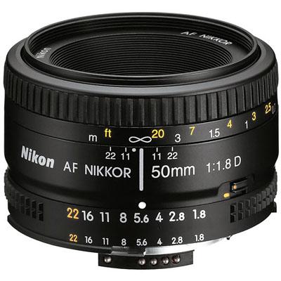 NIKON AF 50mm F1.8D 定焦鏡(公司貨)