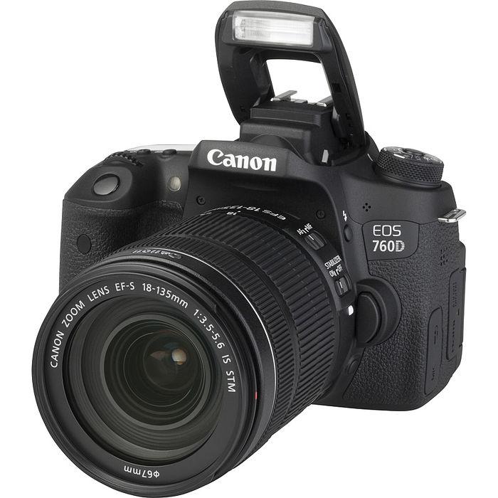 Canon EOS 760D KIT 18-135mm 旅遊鏡組 (中文平輸)