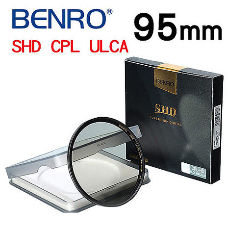 【BENRO百諾】95mm SHD CPL-HD ULCA WMC/SLIM 16層奈米超低色差鍍膜薄框偏光鏡