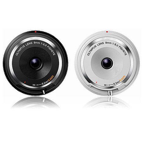 OLYMPUS 9mm F8.0 Fisheye BCL-0980 魚眼機蓋鏡頭 公司貨白色