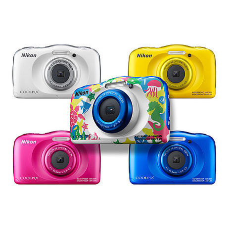 Nikon COOLPIX W100 防水相機 (公司貨)粉色