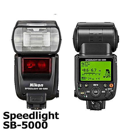 NIKON Speedlight SB-5000 / SB5000 原廠閃光燈 外接式閃光燈 (公司貨)